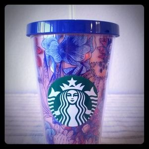 Starbucks | Cactus/Floral Cold Cup | 16oz | NWT